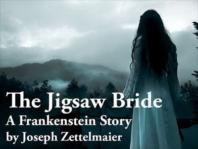 Logo for First Folio Theatre's THE JIGSAW BRIDE